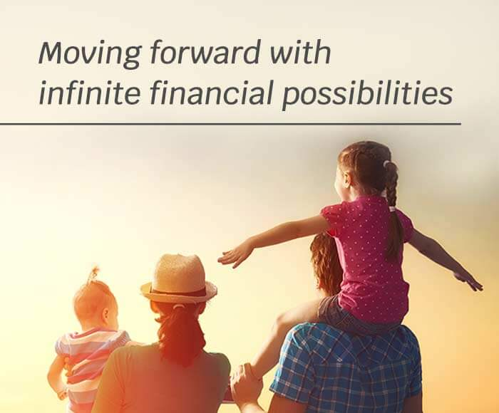 Moving forward with infinite financial possibilities